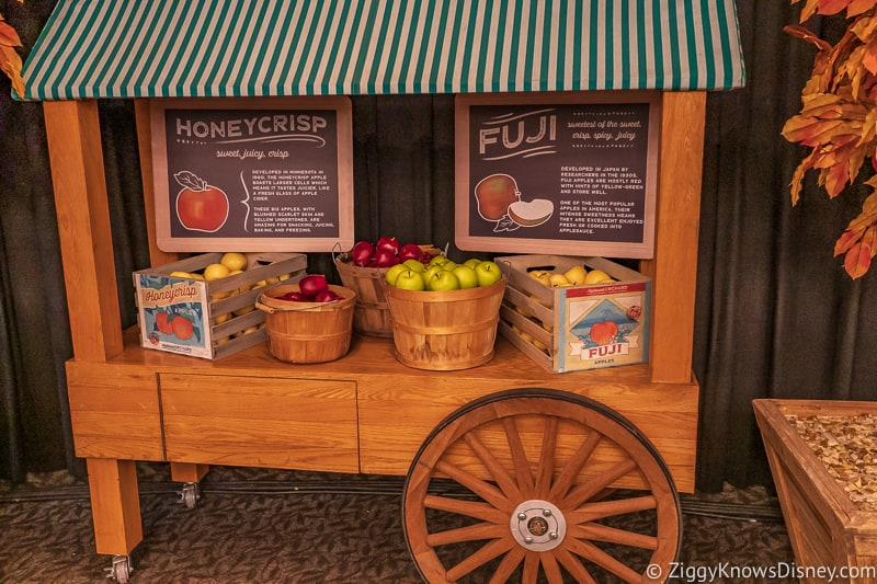 cart Appleseed Orchard Epcot Food and Wine Festival 2019