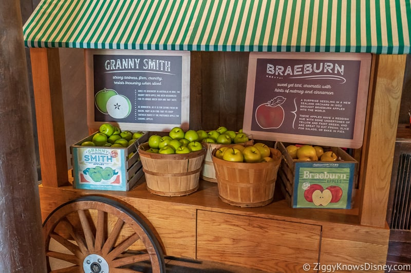apple cart Appleseed Orchard Epcot Food and Wine Festival 2019