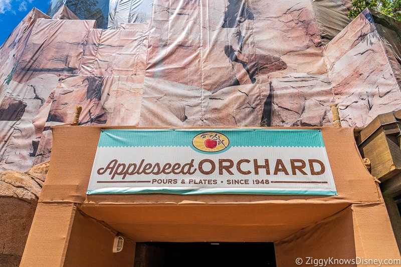 entrance Appleseed Orchard Epcot Food and Wine Festival 2019