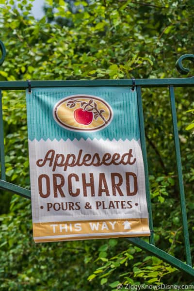 banner Appleseed Orchard Epcot Food and Wine Festival 2019