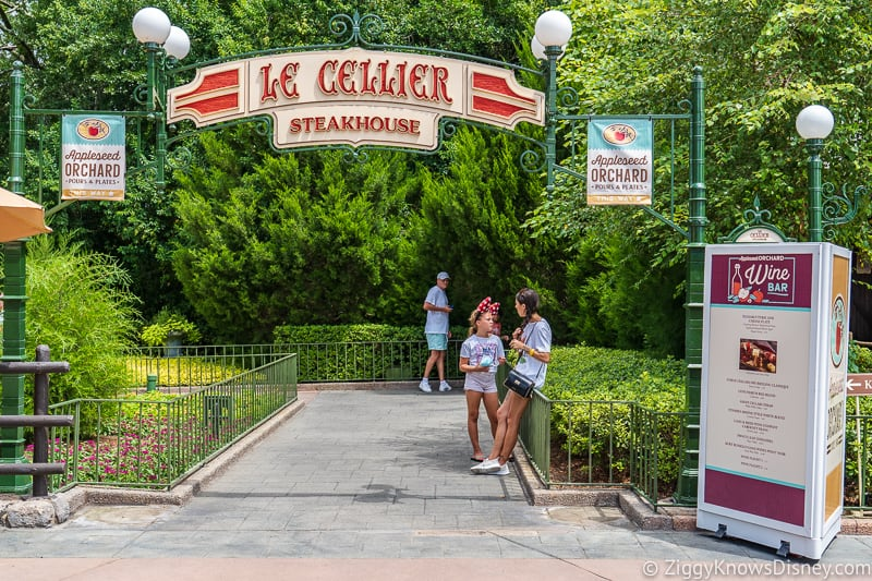 Le Cellier Appleseed Orchard Epcot Food and Wine Festival 2019