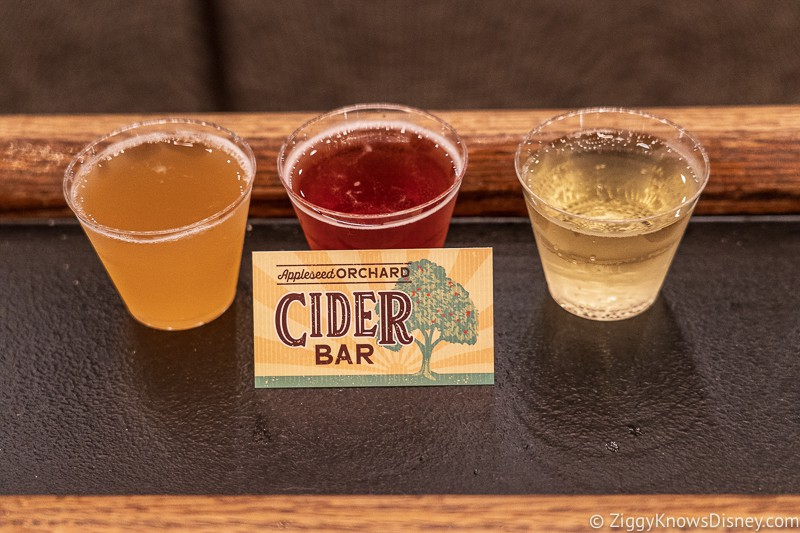 Hard Apple Cider Appleseed Orchard Epcot Food and Wine Festival 2019