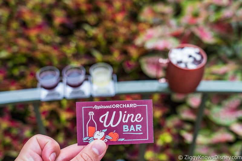 Wine Bar Appleseed Orchard Epcot Food and Wine Festival 2019