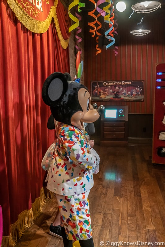 Automatic Cameras replace Mickey and Minnie character town square theater poster inside 5