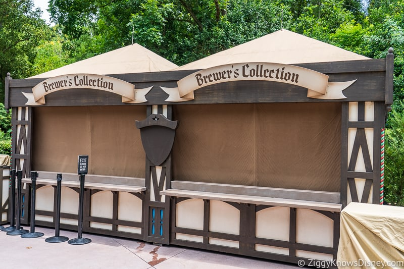 Brewer's Collection 2019 Epcot Food and Wine Festival booth