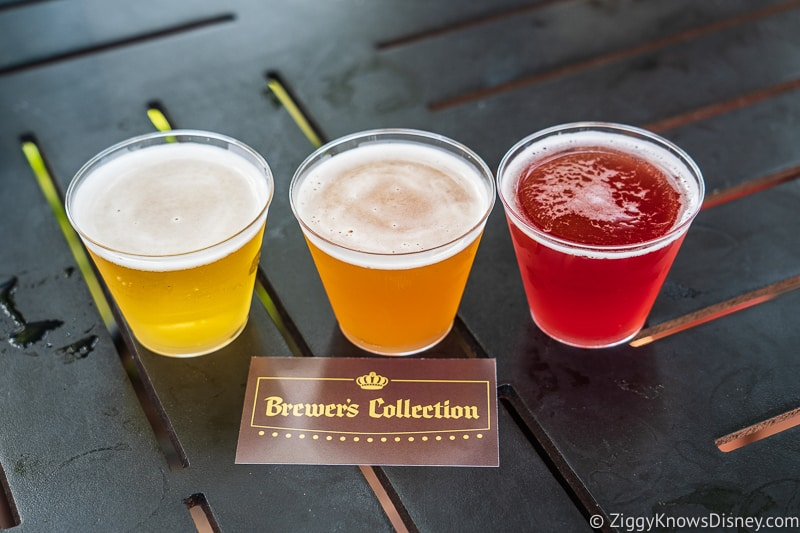 Beer Flight Brewer's Collection 2019 Epcot Food and Wine Festival