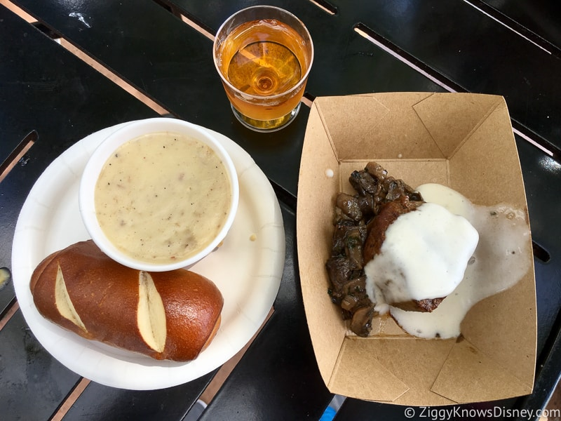 Canada 2019 Epcot Food and Wine Festival food
