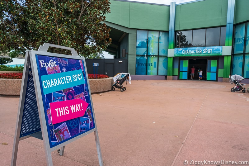 New Character Spot Epcot Entrance