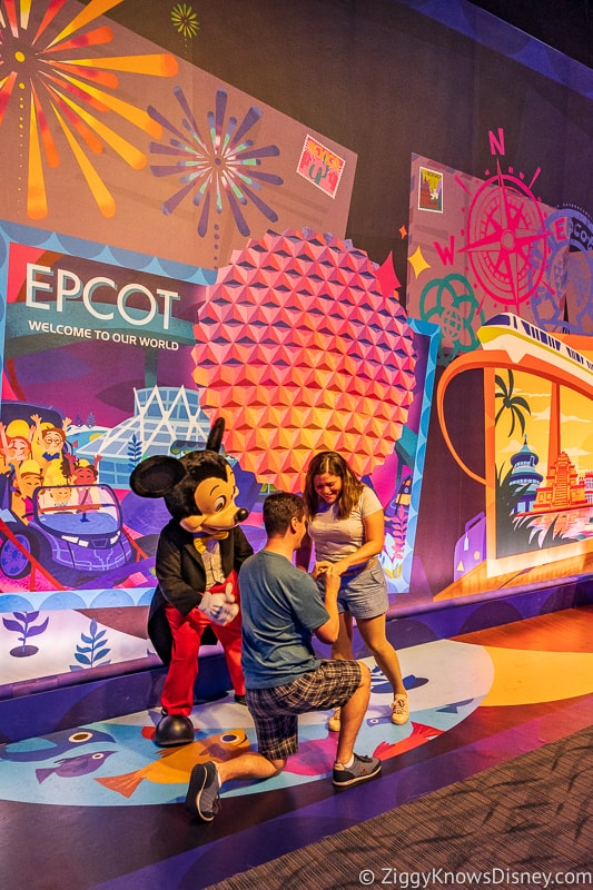 New Character Spot Epcot proposal