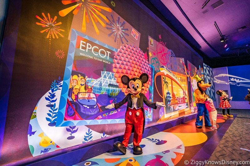 New Character Spot Epcot Mickey Mouse