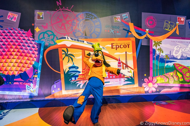New Character Spot Epcot Goofy