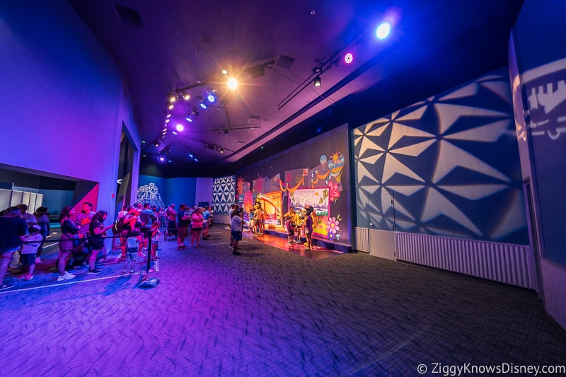New Character Spot Epcot room
