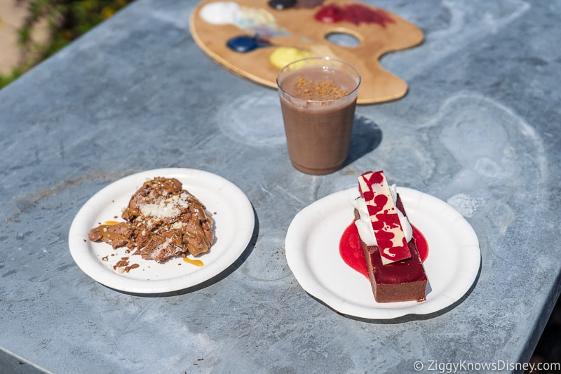 The Chocolate Studio 2019 Epcot Food and Wine Festival food