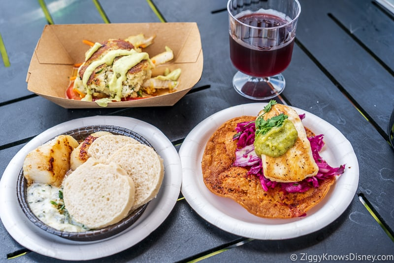 Coastal Eats 2019 Epcot Food and Wine Festival food
