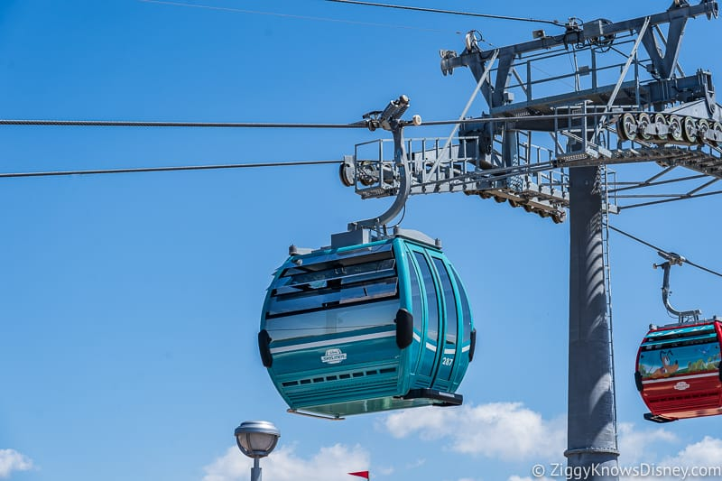 Disney Skyliner Gondolas Teal