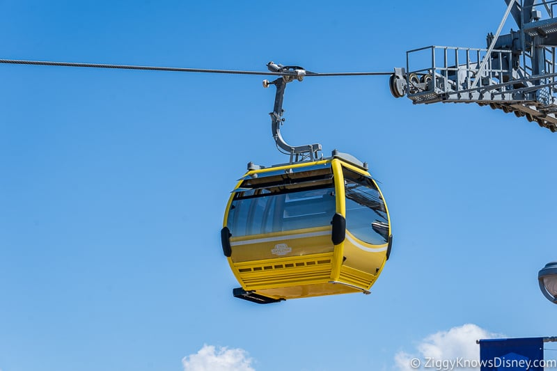 Disney Skyliner Gondolas Yellow