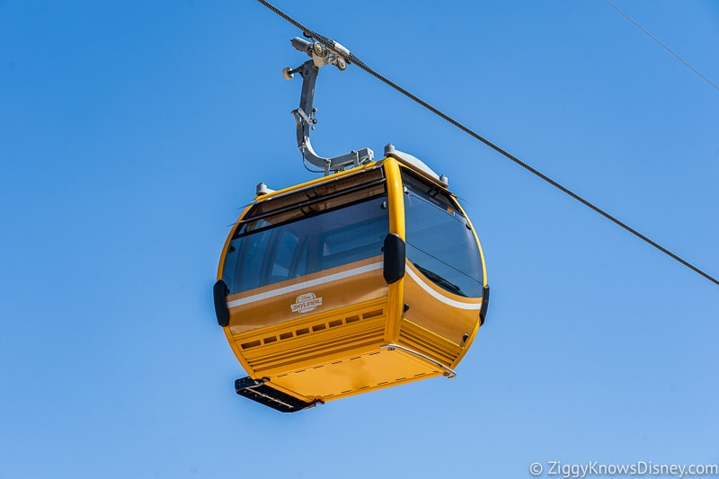 Disney Skyliner Gondolas Orange