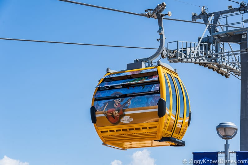 Disney Skyliner Gondolas Characters Coco