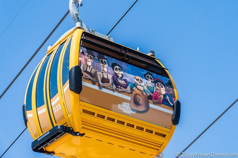 Disney Skyliner Gondolas Characters Coco 2