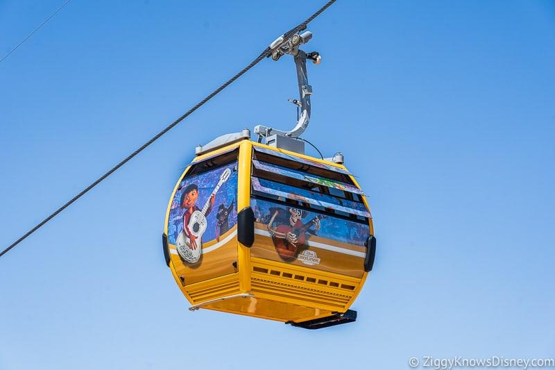 Disney Skyliner Gondolas Characters Coco 3
