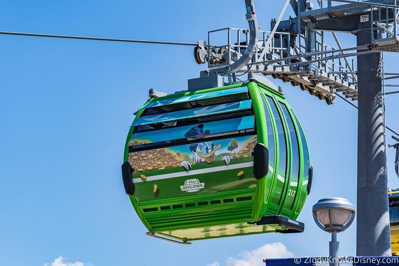 Disney Skyliner Gondolas Characters DuckTales