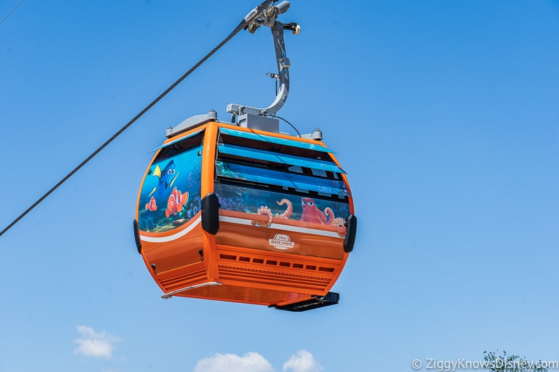 Disney Skyliner Gondolas Characters Finding Dory