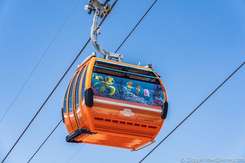 Disney Skyliner Gondolas Characters Finding Dory 2