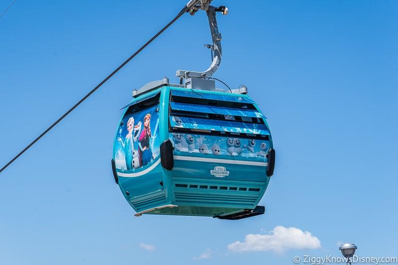 Disney Skyliner Gondolas Characters Frozen