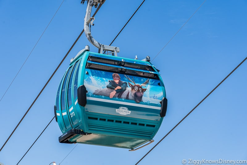 Disney Skyliner Gondolas Characters Frozen 2