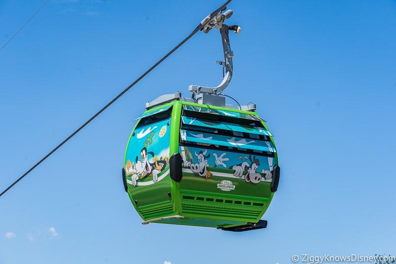 Disney Skyliner Gondolas Characters Goofy