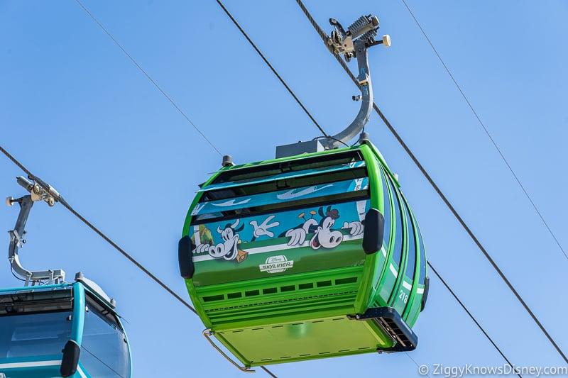Disney Skyliner Gondolas Characters Goofy 2