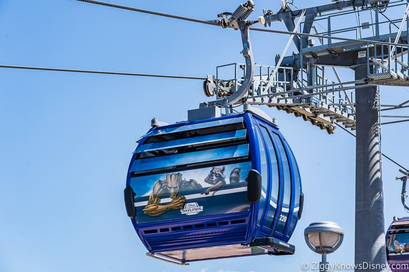 Disney Skyliner Gondolas Characters Guardians of the Galaxy