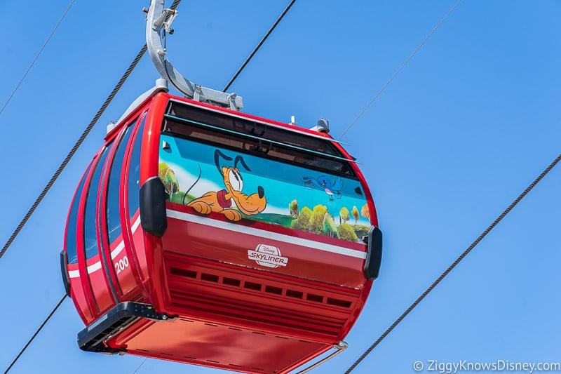 Disney Skyliner Gondolas Characters Pluto
