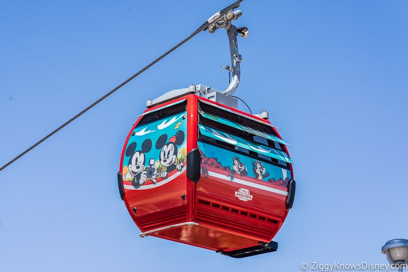 Disney Skyliner Gondolas Characters Mickey and Minnie