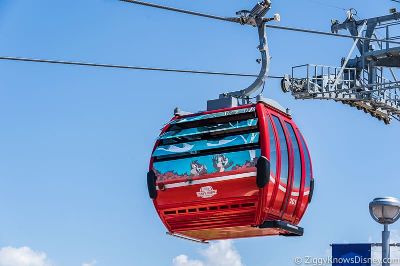 Disney Skyliner Gondolas Characters Chip and Dale