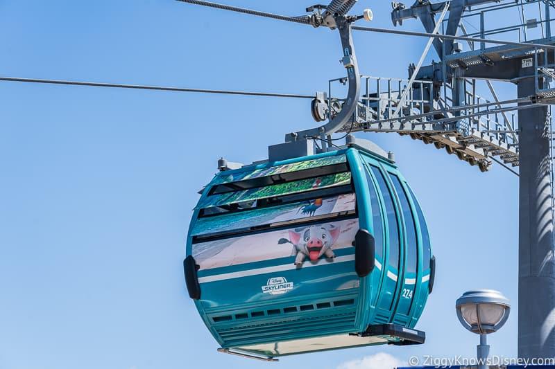 Disney Skyliner Gondolas Characters Moana