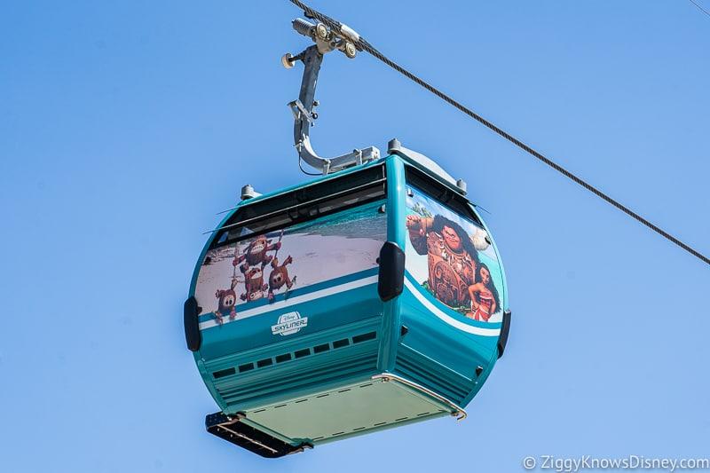 Disney Skyliner Gondolas Characters Moana 2