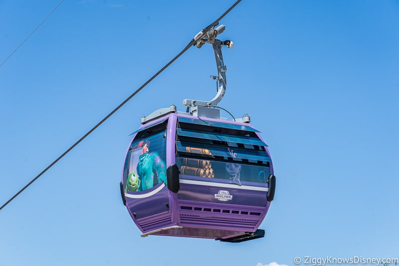 Disney Skyliner Gondolas Characters Monsters Inc