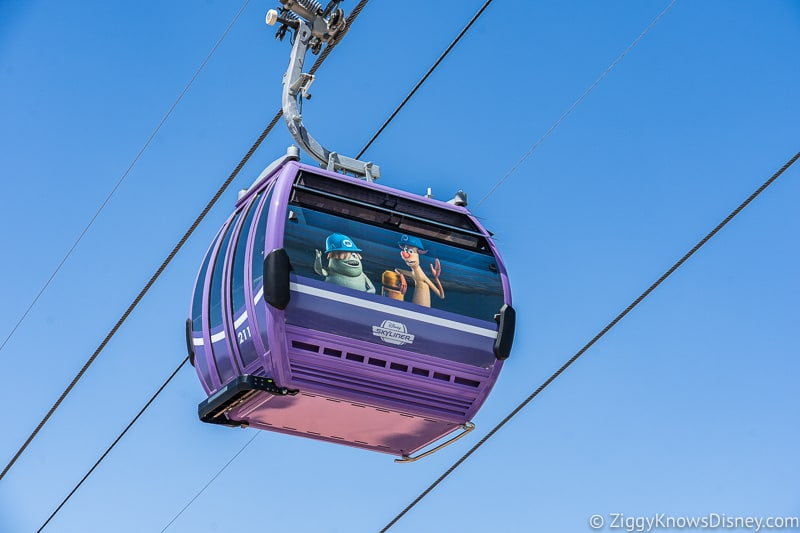 Disney Skyliner Gondolas Characters Monsters Inc 2