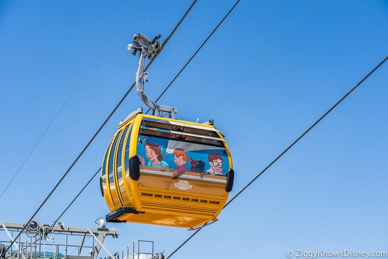 Disney Skyliner Gondolas Characters Peter Pan 2
