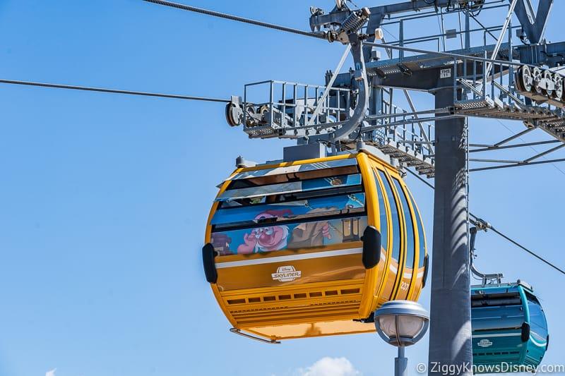Disney Skyliner Gondolas Characters Peter Pan 3
