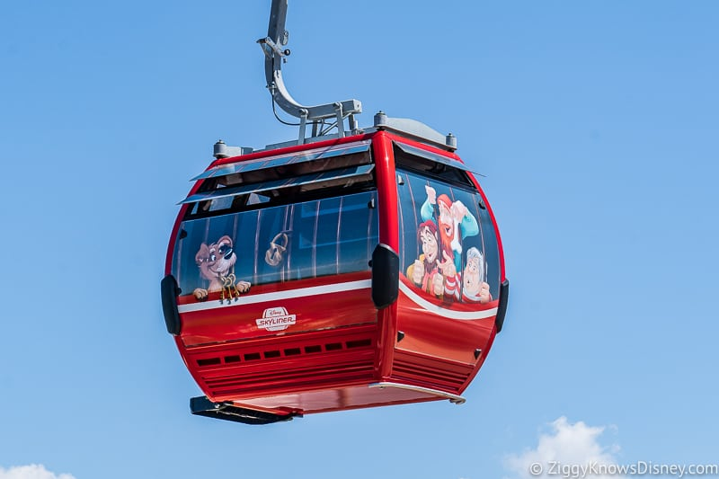 Disney Skyliner Gondolas Characters Pirates of the Caribbean