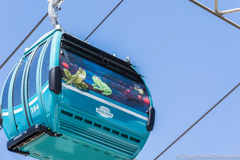 Disney Skyliner Gondolas Characters The Princess and the Frog 2