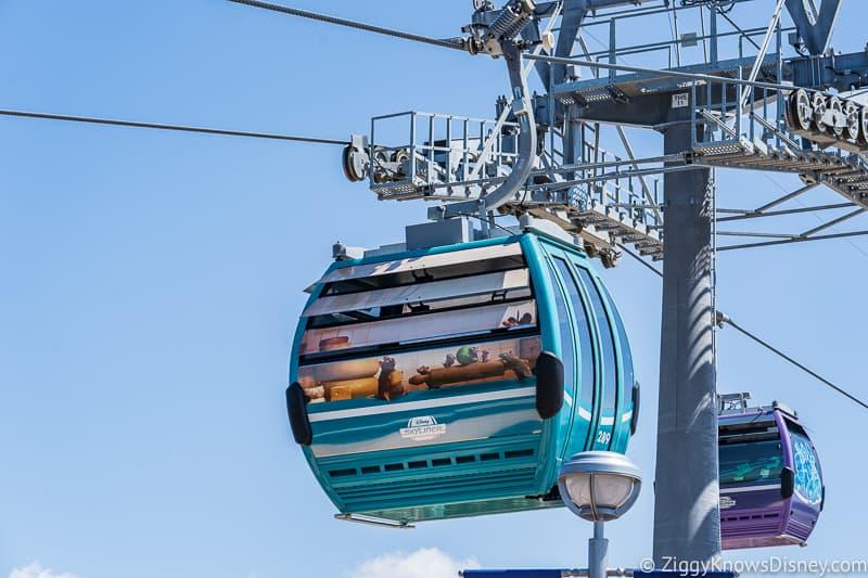 Disney Skyliner Gondolas Characters Ratatouille