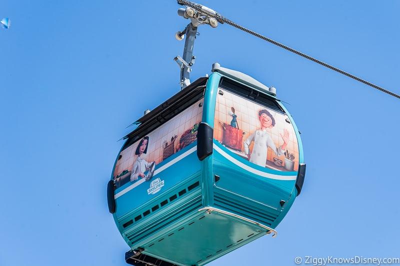 Disney Skyliner Gondolas Characters Ratatouille 2