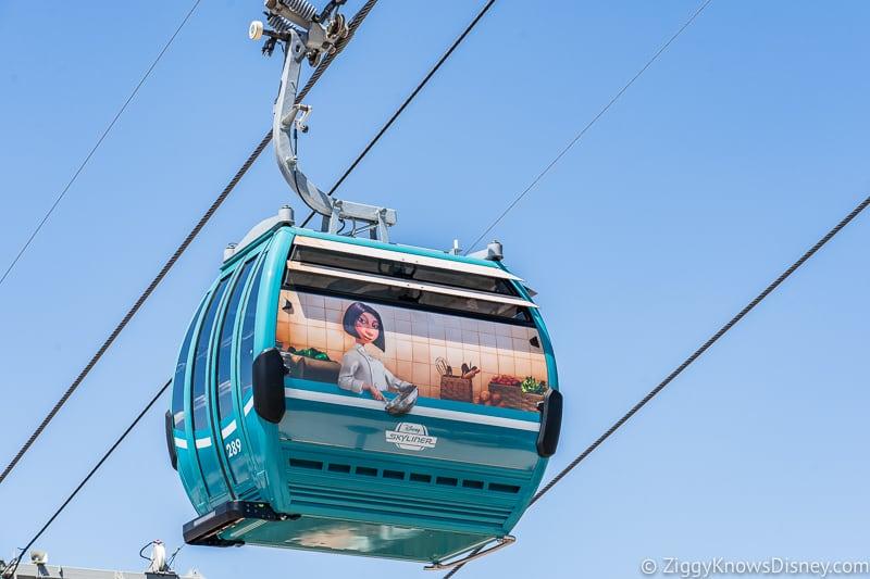 Disney Skyliner Gondolas Characters Ratatouille 3