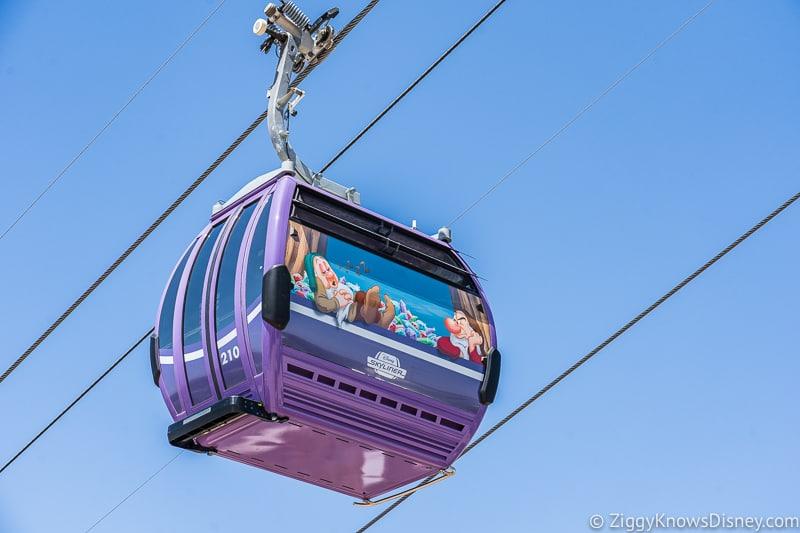 Disney Skyliner Gondolas Characters Snow White