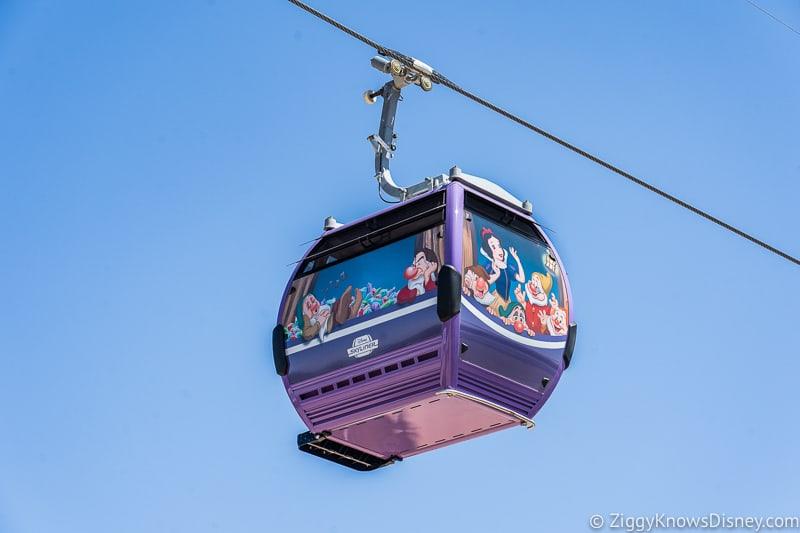 Disney Skyliner Gondolas Characters Snow White 2