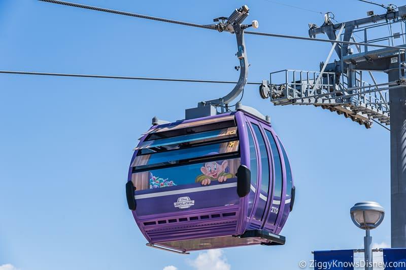 Disney Skyliner Gondolas Characters Snow White 3