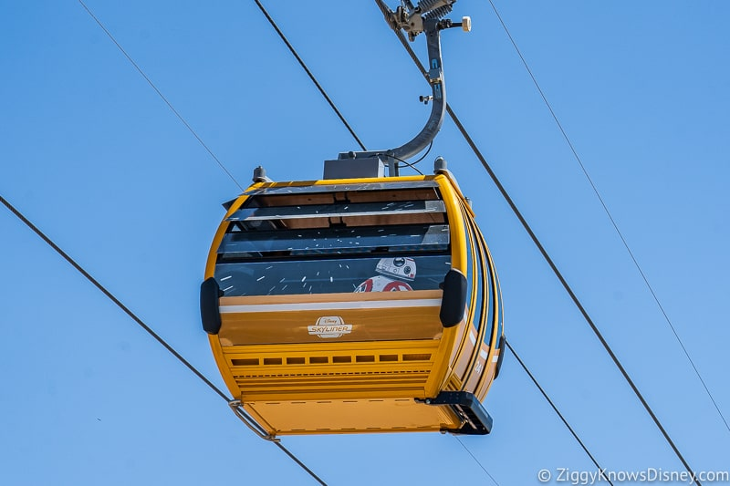 Disney Skyliner Gondolas Characters Star Wars